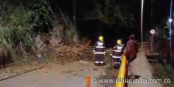 Derrumbe en vía central de Ibagué generó emergencia la pasada noche - El Nuevo Dia (Colombia)