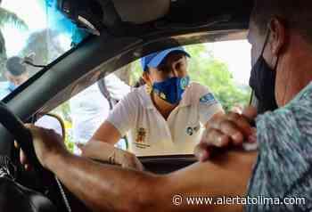 En sus vehículos, hoy vacunan a conductores de busetas. Mayores de 16 años también recibirán el bilógico - Alerta Tolima