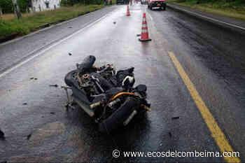Violento accidente de tránsito dejó una persona herida en Ibagué - Ecos del Combeima
