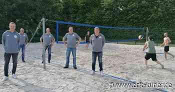 """""""Kids aktiv Hocheukirch"""": Verein setzt Volleyball-Feld instand - Erft-Kurier"""