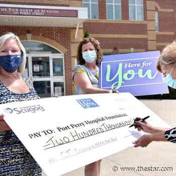 Scugog pledges $200K to Port Perry hospital CT scanner - Toronto Star