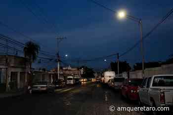 Entregan autoridades municipales luminarias en la colonia la Loma - Periodico a.m.