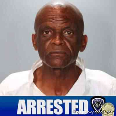 The Fountain Valley police arrested a necklace theft suspect who was targeting elderly ladies
