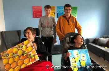 Wohgruppe mit Bienen-Kunst bei Kreativ-Wettbewerb erfolgreich - Mannheimer Morgen