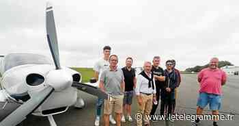 Un avion électrique présenté, samedi, à la porte ouverte de l'aéroclub de Brest - Le Télégramme