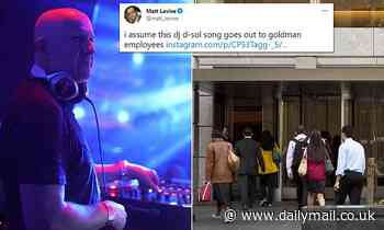 David Solomon, Goldman Sachs CEO and DJ, releases new song ahead of employees return to the office