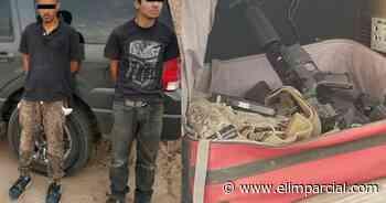 Arrestan a hombres con arsenal en el ejido Pachuca - ELIMPARCIAL.COM