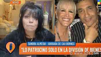 """Sandra Almeida, abogada de Cau Bornes: """"Él se siente discriminado"""" - A24.com"""