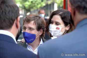 """Almeida reitera que Vox """"no incomoda"""" en la manifestación contra los indultos - Agencia EFE"""
