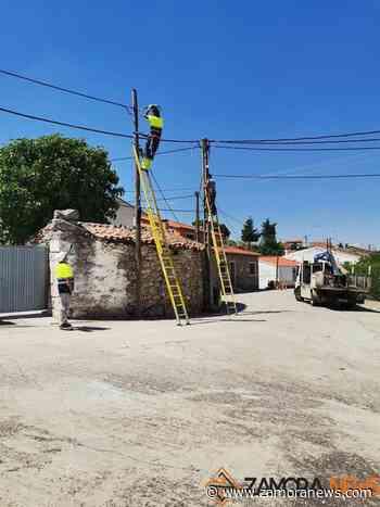 Almeida contará este verano con fibra óptica - Zamora News