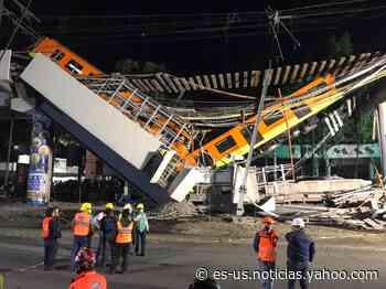 Víctimas de desplome en Metro Olivos buscan justicia en EU - Yahoo Noticias