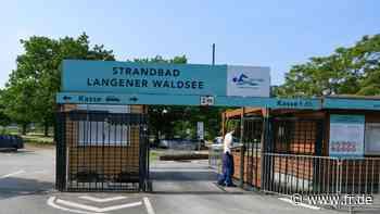 Ohne Online-Ticket kein Einlass zum Langener Waldsee - fr.de