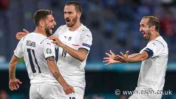 Italy open Euro with dominant win over Turkey