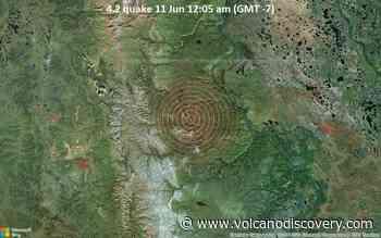 Moderate 4.2 quake hits near Fort McPherson, Inuvik Region, Northwest Territories, Canada - VolcanoDiscovery