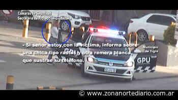 El Talar: dos pungas robaron un celular arriba de un colectivo y el COT logró interceptarlas - Zona Norte Diario Online