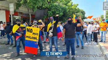 Jóvenes marchantes salieron de Santa Marta por recibir amenazas - El Tiempo