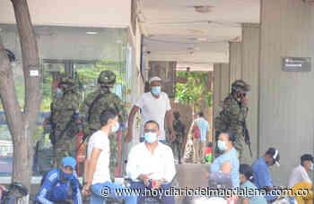 Tropas del Ejército apoyan la seguridad en Santa Marta - HOY DIARIO DEL MAGDALENA