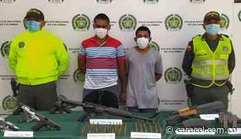 Enviados a la cárcel por presuntamente asesinar a un policía en Santa Marta - Caracol Radio