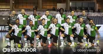 Sporting vence Leões de Porto Salvo e está na final do campeonato de futsal - Observador