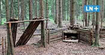 Wer steckt hinter den illegalen Bauten im Segeberger Forst? - Lübecker Nachrichten
