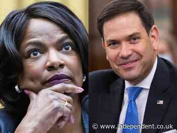 Ex-police chief Val Demings trolls Marco Rubio 'far left extremist' claims as she targets his Senate seat