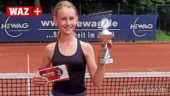 Bochumer Tennis-Talent Sokolova gewinnt Turnier in Dinslaken - Westdeutsche Allgemeine Zeitung