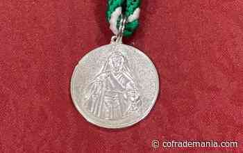 Medalla devota de Santa Marta - Cofrademanía