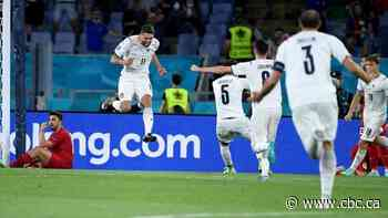 Italy dominates Turkey on home soil in opening match of Euro 2020