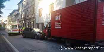 Thiene: frontale con ferito - Vicenzareport
