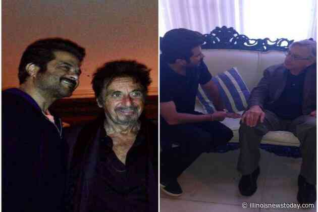 Anil Kapoor shares photo with Robert De Niro of Al Pacino - Illinoisnewstoday.com