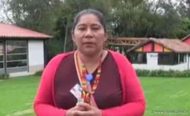 Gobernadora indígena y su esposo fueron asesinados este miércoles en Corinto, Cauca - El País