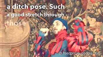 A Side Splitting Medieval TikTok Account: Get a Laugh at Medieval Yoga Poses & Much More