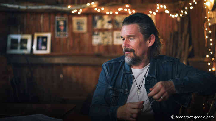 Ethan Hawke Explains How to Give Yourself Permission to Be Creative