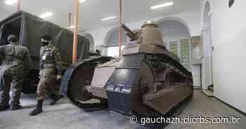 Primeiro blindado usado pelo Exército Brasileiro chega a Porto Alegre - GZH
