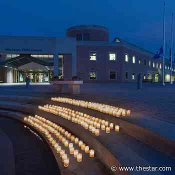 216 candles lit at Markham Civic Centre to remember Kamloops residential school victims - Toronto Star