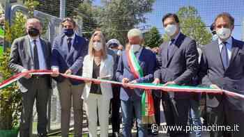 Regione Marche, Acquaroli e Vezzali inaugurano campo polivalente a Monte Giberto - picenotime