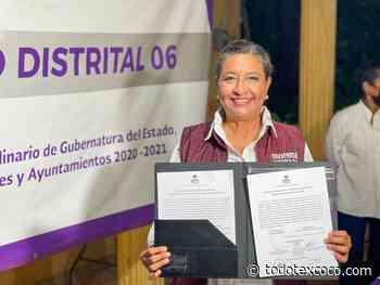 Recibe Leticia Castro Ortiz constancia de mayoría como diputada local electa del distrito 06 - todotexcoco.com