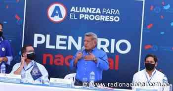Alianza para el Progreso pide esperar con tranquilidad revisión de votos - Radio Nacional del Perú