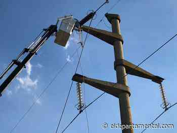 Se interrumpirá el suministro eléctrico en Villa Trinidad - El Departamental