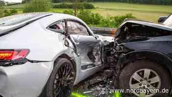 Keine Chance zum Ausweichen: Ein Schwerverletzter bei Rennen mit Sportwagen - Nordbayern.de
