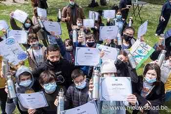 Vijftig Waterambassadeurs krijgen diploma - Het Nieuwsblad