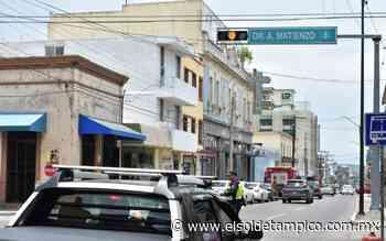 ¡Sobre la calle Altamira! Hay nuevo semáforo en el centro de Tampico - El Sol de Tampico