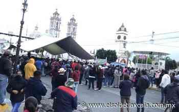 Forman quejosos comisión en Xicohtzinco por tema electoral - El Sol de Tlaxcala