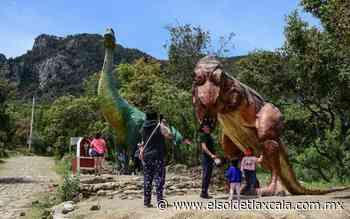 """Dinosaurios """"invaden"""" al Cuatlapanga - El Sol de Tlaxcala"""