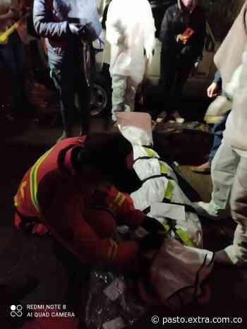 Fatal accidente de transito en Gualmatán | Pasto - Extra Pasto