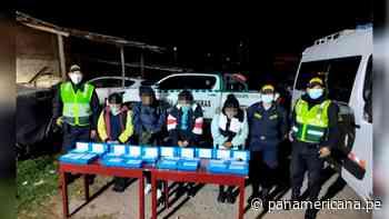 Ayacucho: detienen a bolivianas con más de 50 kilos de droga | Panamericana TV - Panamericana Televisión
