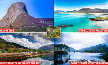 There's more to Scotland than the Harry Potter bridge, say Scottish tourism chiefs - Daily Mail
