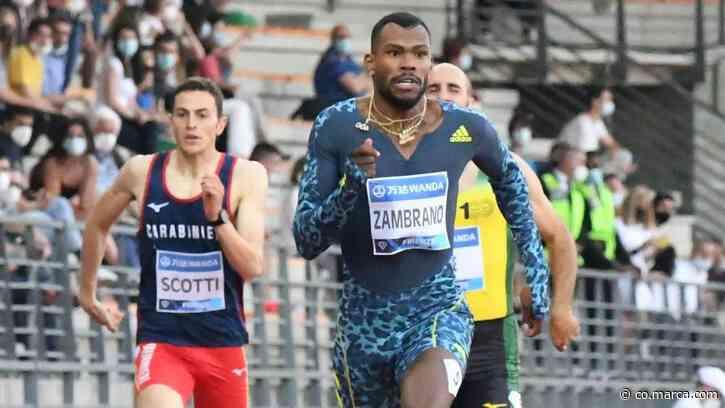 Anthony Zambrano pone a soñar a Colombia con una medalla olímpica en los 400 metros - Marca Claro Colombia