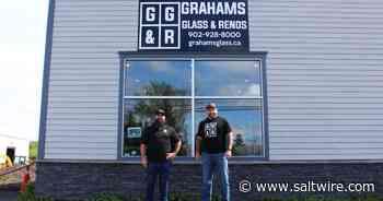 Stellarton's Graham's Glass & Renos opens retail office, showroom | Saltwire - SaltWire Network