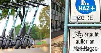 E-Scooter in Langenhagen: Regeln fürs Fahren und Abstellen - Hannoversche Allgemeine
